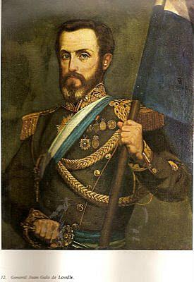 LLAVALLE : GOBERNADOR DE BUENOS AIRES