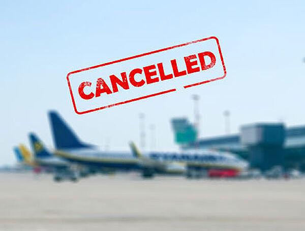 Cancelación de actividades