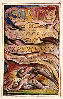 William Blake publishes Songs of Innocence, a volume of his poems with every page etched and illustrated by himself