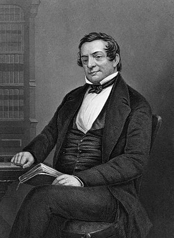 Washington Irving uses the fictional Dutch scholar Diedrich Knickerbocker as the supposed author of his comic History of New York