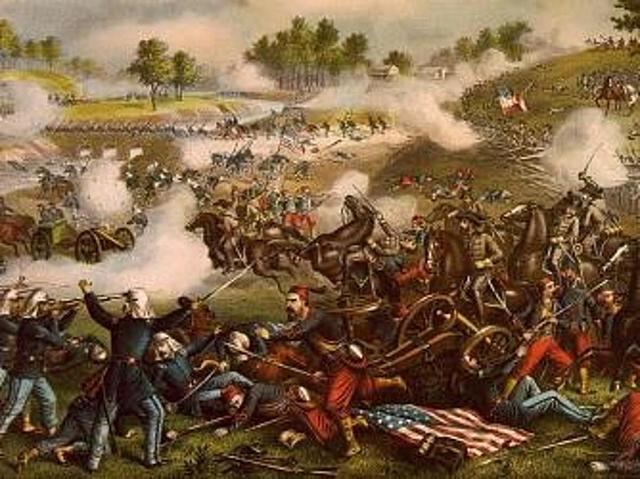 Battle 1st Bull Run