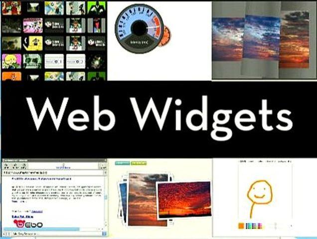 se crearan los Widget