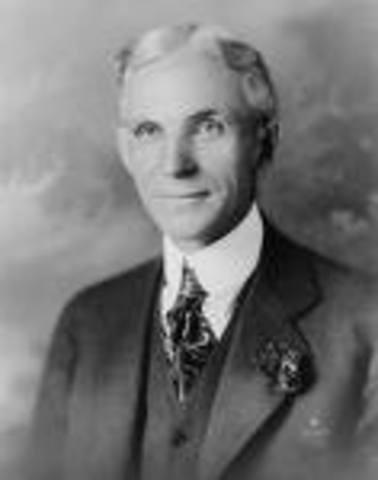 Participación de Henry Ford