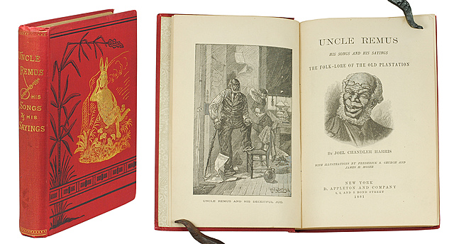 Joel Chandler Harris publishes Uncle Remus: His Songs and His Sayings, the first of many Uncle Remus volumes