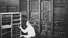 Historia de la informática. timeline