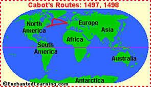 John Cabot sponsored by North America