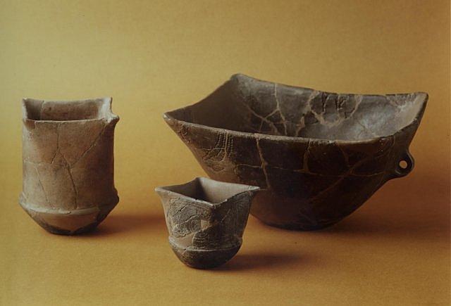 Cultura dei vasi a bocca quadrata - Neolitico Medio