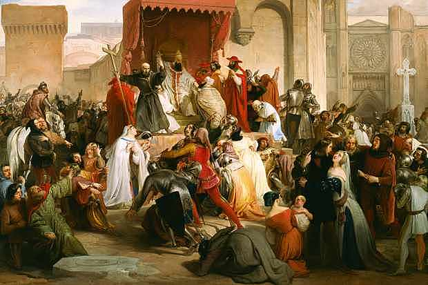Pope Urban III Calls for the First Crusade in the Holy Land