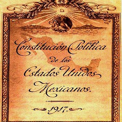 LAS CONSTITUCIONES EN MÉXICO  timeline