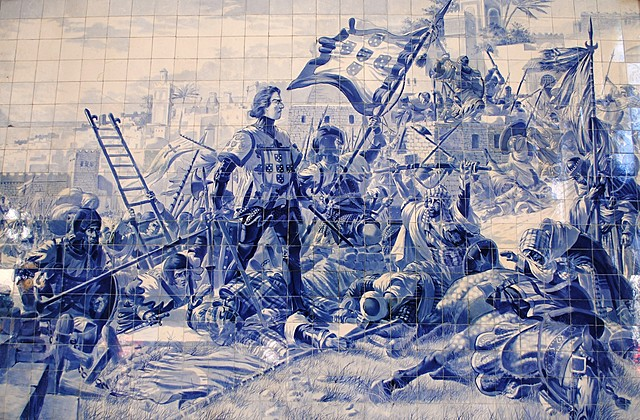 Capture of the Fortress of Cueta