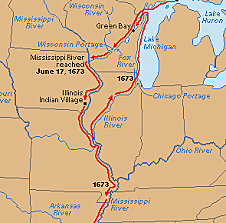 Louis Joliet and Jacques Marquette: Two French explorers