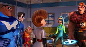 Helen meets other super heroes