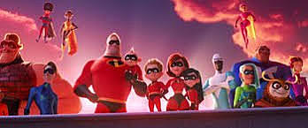 The kids come and Save Ms. incredible and Mr. Incredible