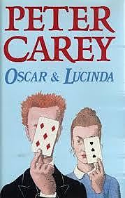 Australian author Peter Carey's novel Oscar and Lucinda wins the Booker Prize
