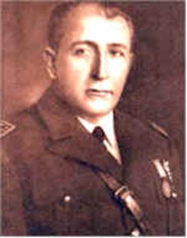 General de División Jorge Ubico Castañeda (14 febrero 1931 - 1 julio 1944)