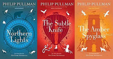 The Amber Spyglass completes Philip Pullman's trilogy, His Dark Materials