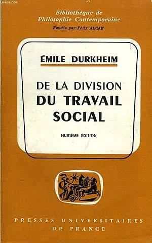 """""""La división del trabajo en la sociedad"""""""