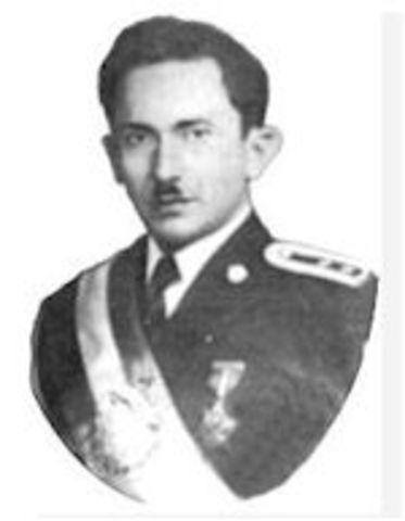 Coronel Carlos Castillo Armas (1 de sept. 1954 – 26 de julio 1957)