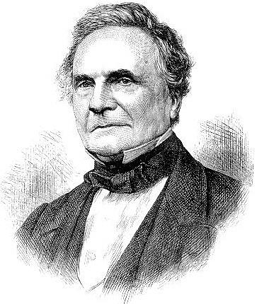 Las teorías de Babbage (1822).