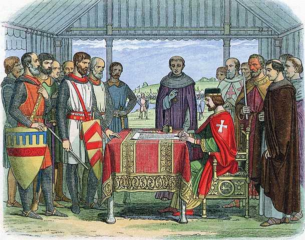 Magna Carta ( Grunnlag for det britiske parlament)