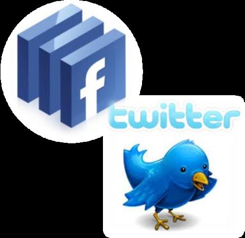 Twitter / Facebook