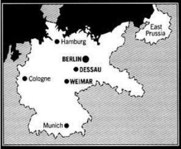 Fundación de la república de Weimar