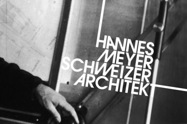 Arq. Hannes Meyer promueve un funcionalismo más dogmático.