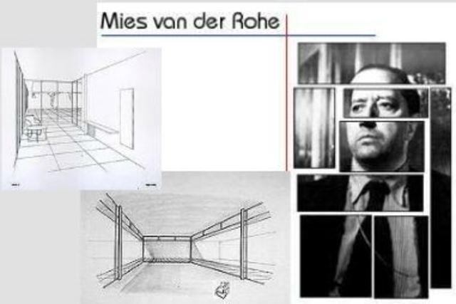 Arq. Mies van der Roche se convierte en director de la Bauhaus