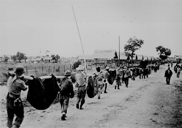 WW2 Japanese invasion of the Philippines