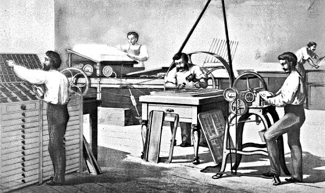 Primera imprenta Europa