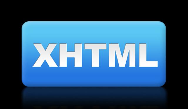 XHTML 1.0 - eXtensible HyperText Markup Language