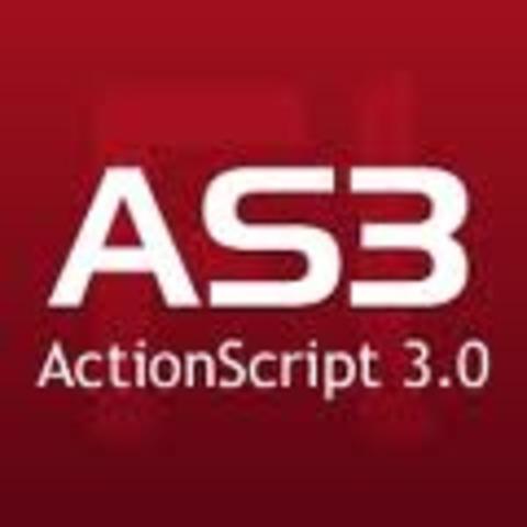 ActionScript es un lenguaje orientado a objetos que permite ampliar las funcionalidades que Flash ofrece en sus paneles de diseño y además permitir la creación de películas o animaciones con altísimo contenido interactivo. Provee a Flash de un lenguaje qu