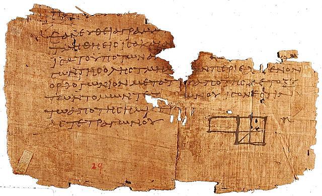 Papiro en Grecia