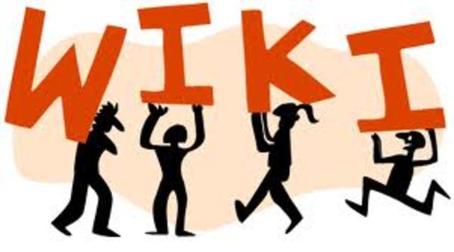 El origen de los wikis está en la comunidad de patrones de diseño, cuyos integrantes los utilizaron para escribir patrones de programación. El primer WikiWikiWeb fue creado por Ward Cunningham, quien inventó y dio nombre al concepto wiki, y produjo la pri