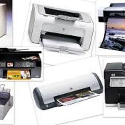 Evolución de las Impresoras timeline