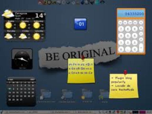 En informática, un widget es una pequeña aplicación o programa, usualmente presentado en archivos o ficheros pequeños que son ejecutados por un motor de widgets o Widget Engine. Entre sus objetivos están dar fácil acceso a funciones frecuentemente usadas