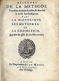 Descartes: Inicio òptima matemática moderna