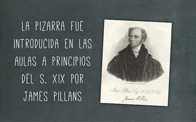 "James Pillans ""Creador de la pizarra"""
