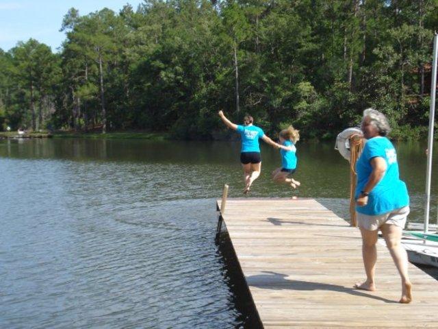 I began my first summer an official camp counselor