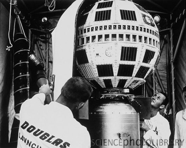 Launch Of Telstar Satellite