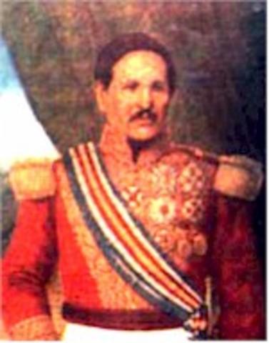 Capitán General José Rafael Carrera 6 de noviembre 1851- 14 de abril 1865