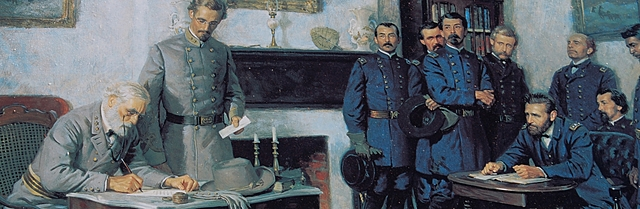 Surrender of Lee at Appomattox Court House