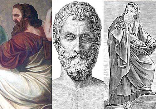 Filósofos Retóricos y Presocráticos