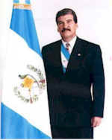 Lic. Ramiro de León Carpio (6 junio 1993 – 14 enero 1996)