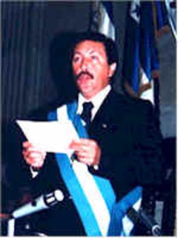 Lic. Marco Vinicio Cerezo Arévalo (14 enero 1986 – 1990)