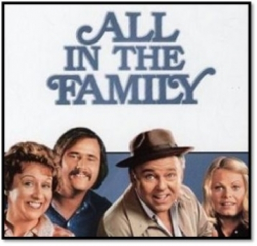 """Series premiere of """"All in the Family"""""""