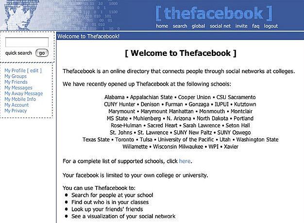 Origen de Facebook