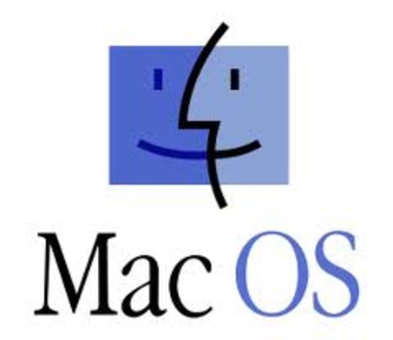 Lanzamiento del Mac Os