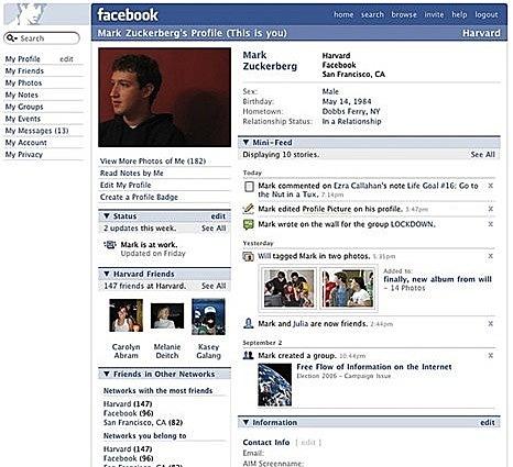 Expandiendo Facebook