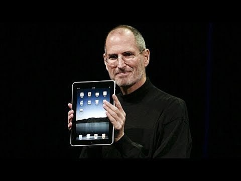 Introduces the iPad
